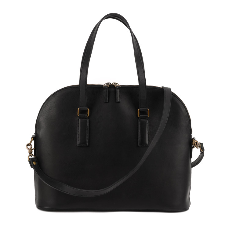 Fitz Work Tote in Kireina Black by Moore & Giles