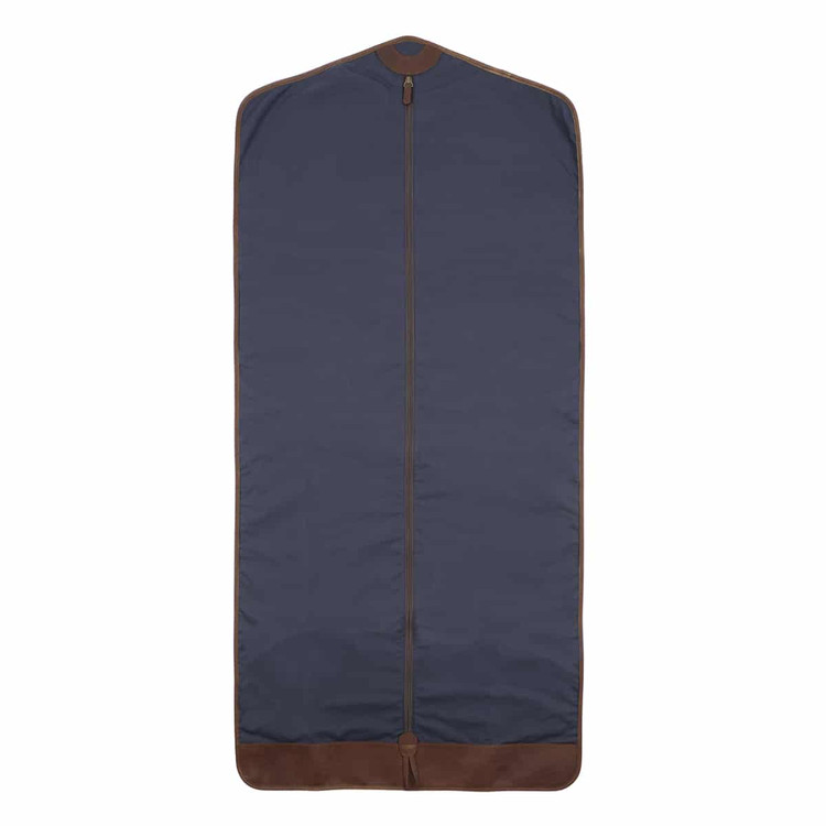 Goodwin Long Garment Sleeve in Ventile Navy by Moore & Giles