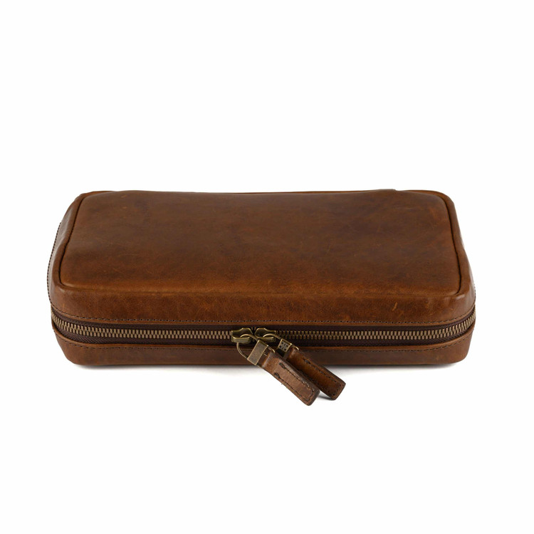 Kent Travel Kit in Baldwin Oak by Moore & Giles