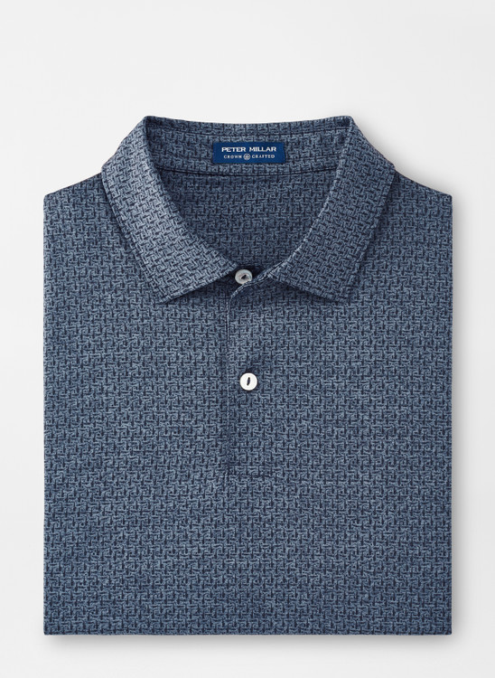 Roland Performance Polo in Navy by Peter Millar