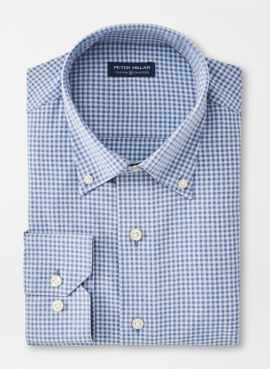 Goodman Natural Touch Sport Shirt in Riverside by Peter Millar