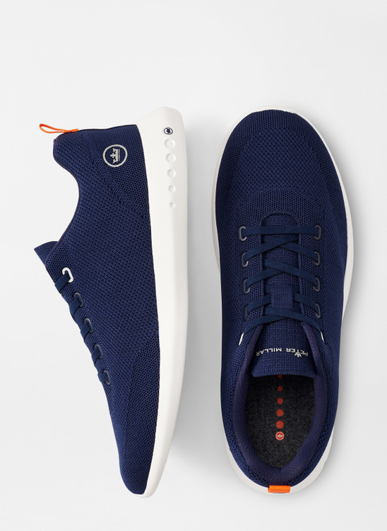 Hyperlight Glide Sneaker in Navy by Peter Millar