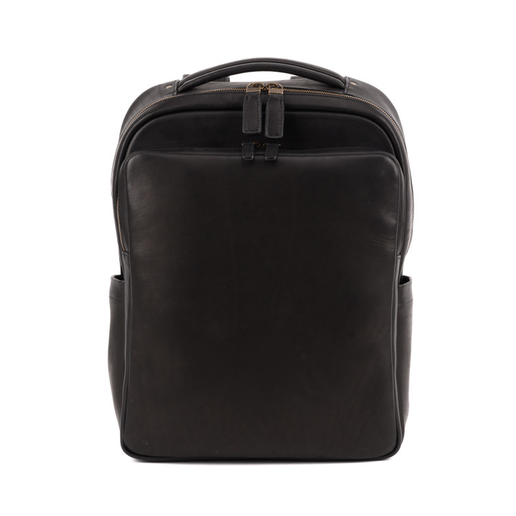Quinn Commuter Backpack in Kireina Black by Moore & Giles
