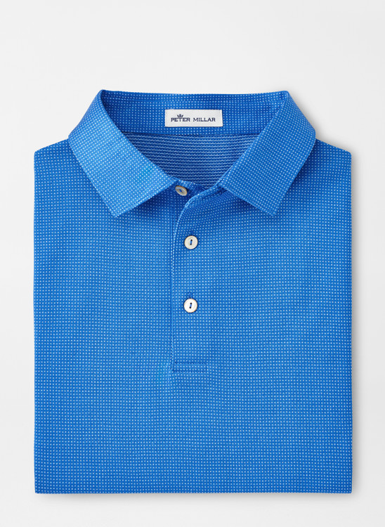 Southlake Cotton Polo in Cape Blue by Peter Millar
