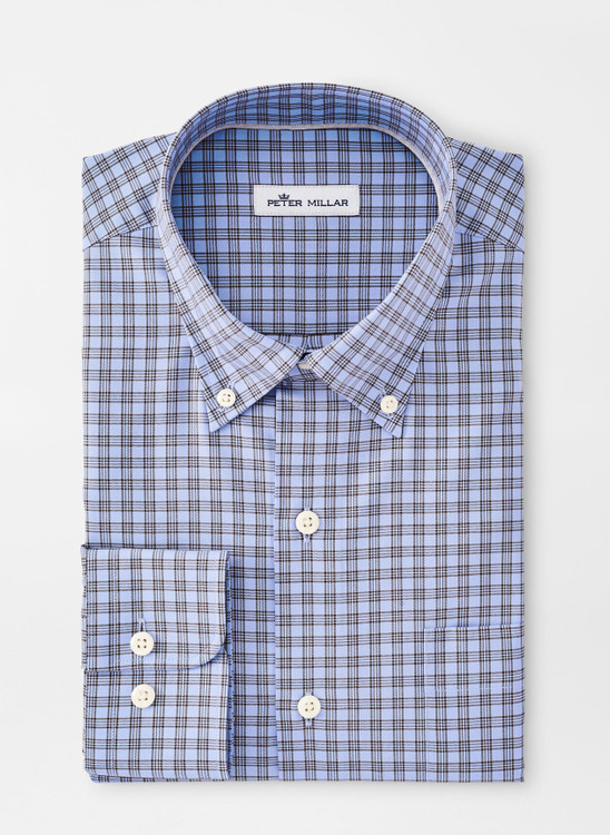 Crown Soft Francis Sport Shirt in Cottage Blue by Peter Millar