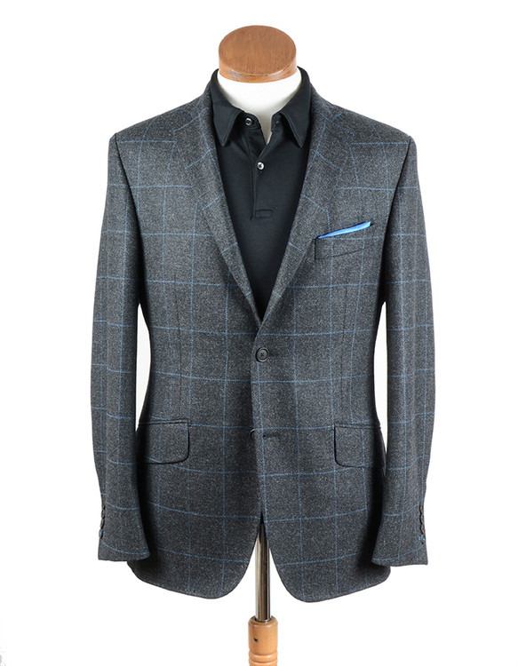 Hansen's Exclusive Erskine Tweed Unstructured Athletic Jacket by Bookster Tailoring
