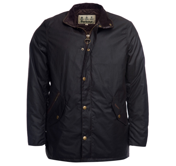 Prestbury Wax Jacket in Rustic by Barbour