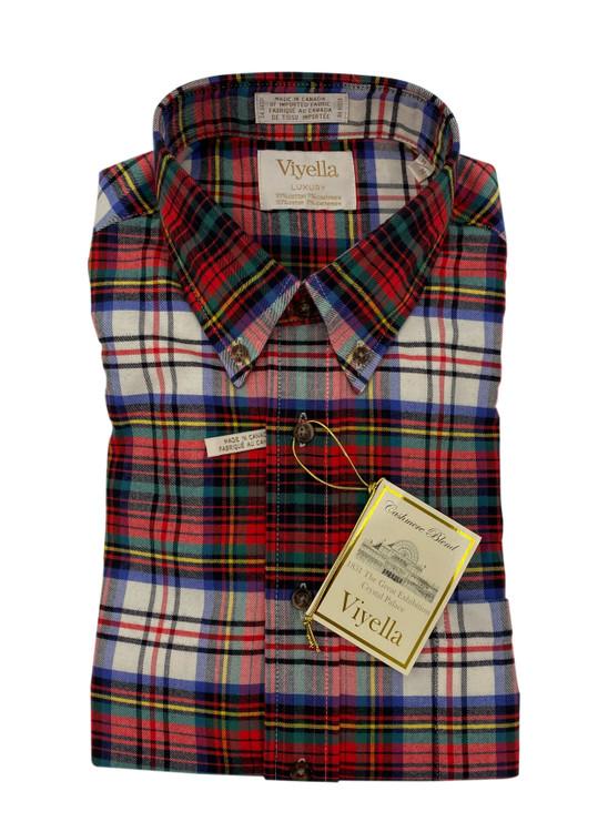 Crimson Limited Edition Luxury Button-Down Sport Shirt by Viyella