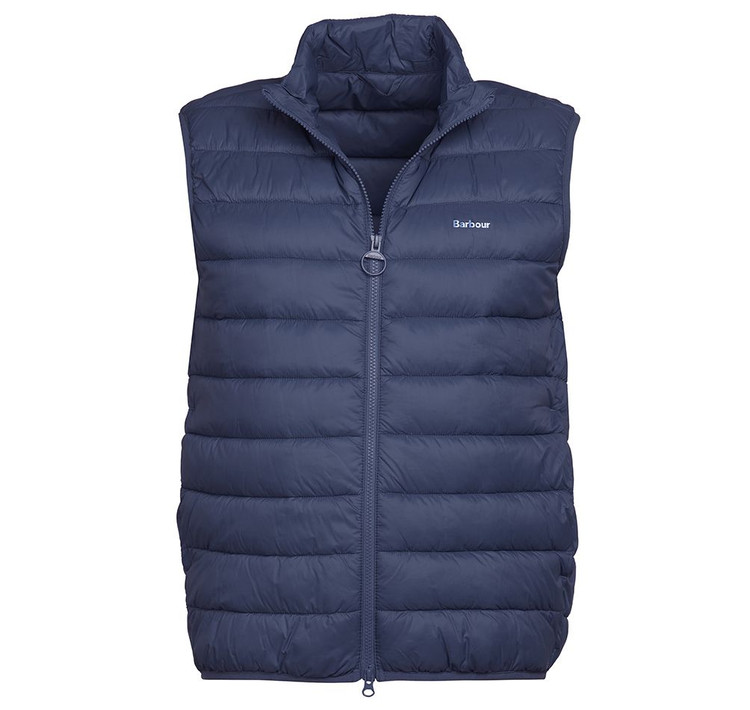 Bretby Gilet Vest in Navy by Barbour