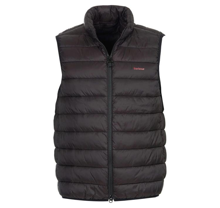 Bretby Gilet Vest in Black by Barbour