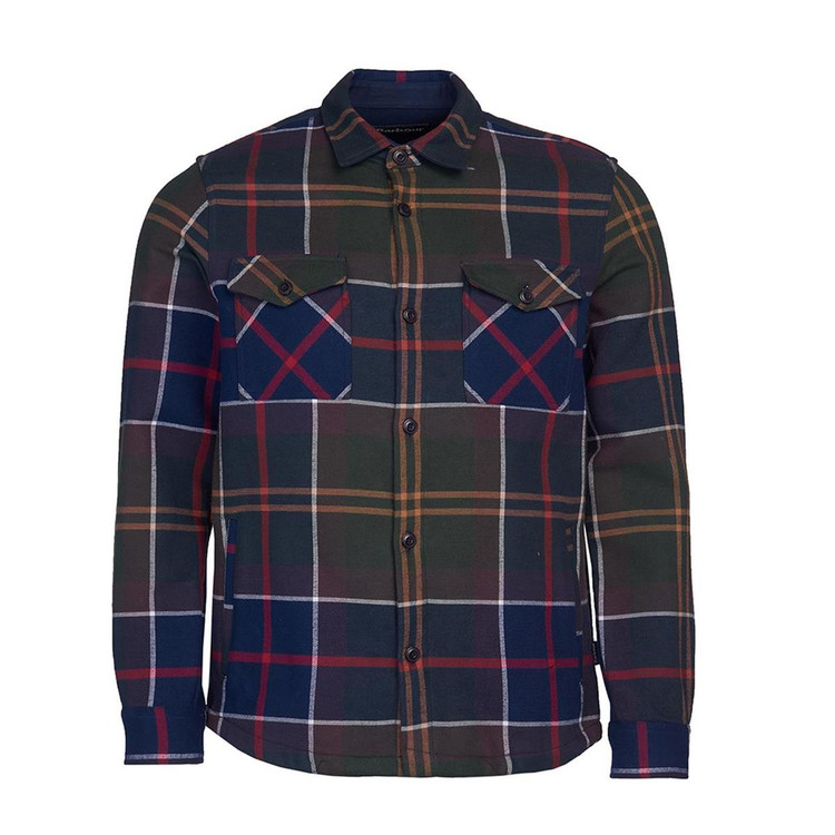 Cannich Overshirt in Classic Tartan by Barbour