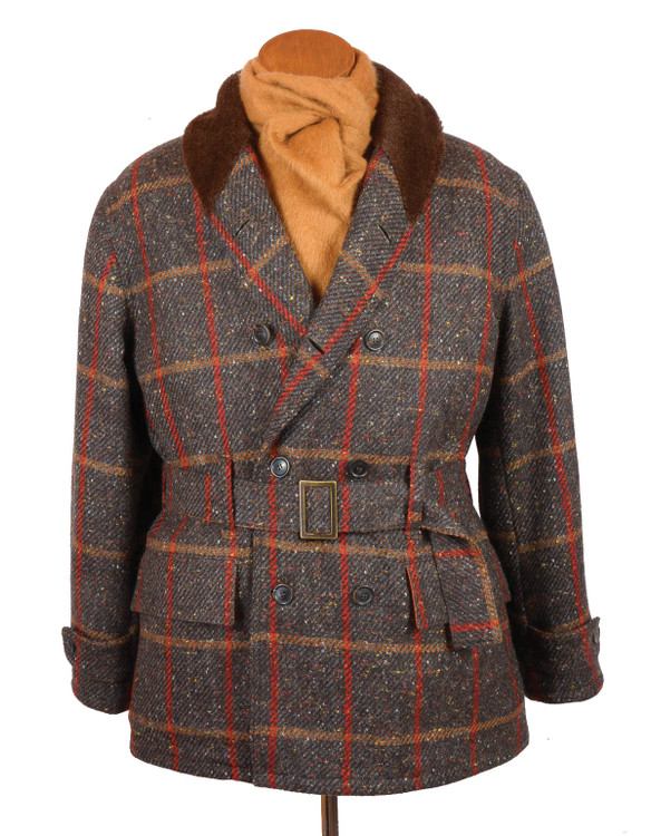 Donegal Tweed Mackinaw Jacket by Bookster Tailoring