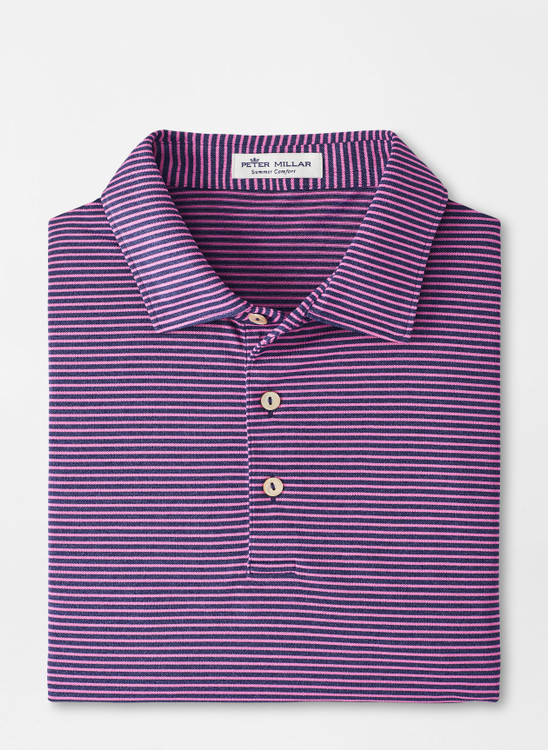 Grace Performance Mesh Polo in Navy by Peter Millar