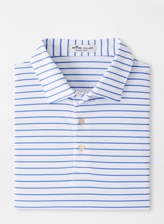 Swan Performance Mesh Polo in Navy by Peter Millar