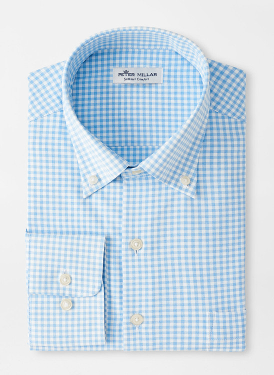 Willie Performance Sport Shirt in Cottage Blue by Peter Millar