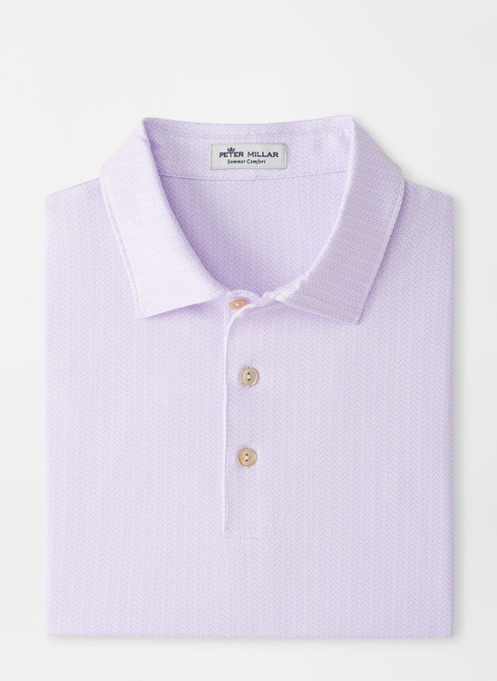 Bellamy Performance Jersey Polo in White by Peter Millar