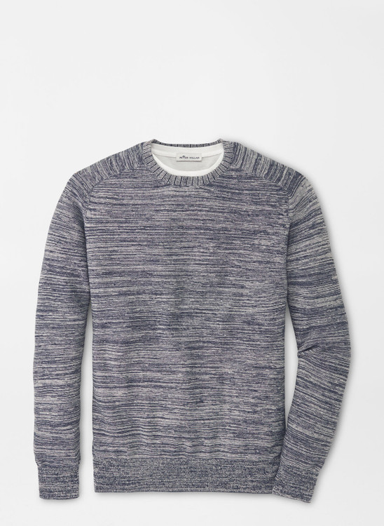 Crown Cool Crewneck Sweater in Navy by Peter Millar