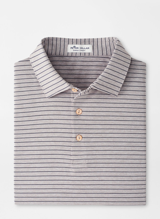 Crafty Performance Jersey Polo in Gale Grey by Peter Millar