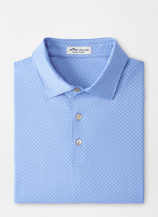Joe Performance Jersey Polo in Cottage Blue by Peter Millar