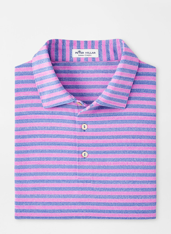 Dunn Performance Jersey Polo in Blue Sea by Peter Millar