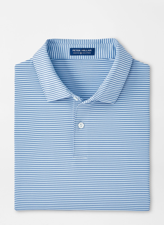 Bullock Performance Jersey Polo in Fjord by Peter Millar