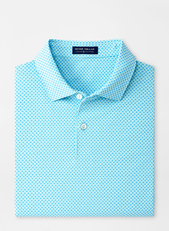Sid Performance Jersey Polo in Moroccan Mint by Peter Millar