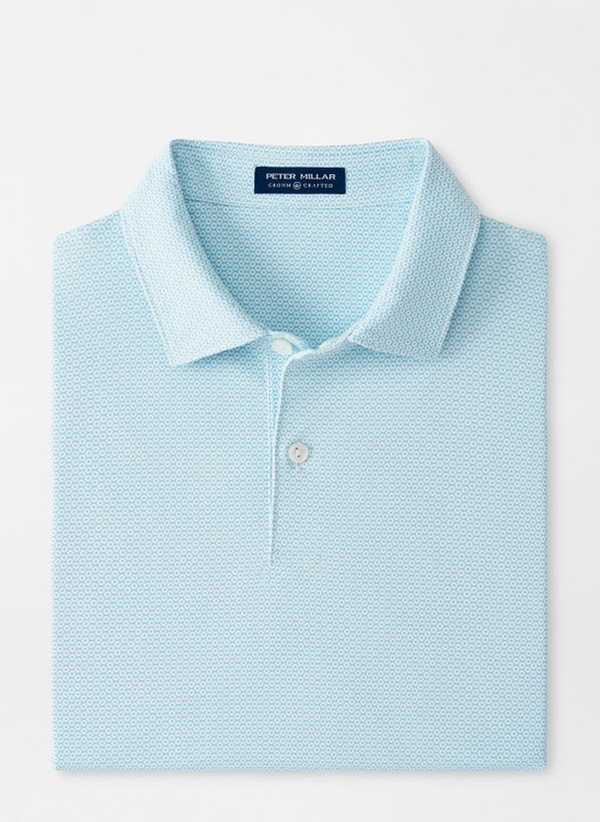 Dandy Performance Jersey Polo in White by Peter Millar