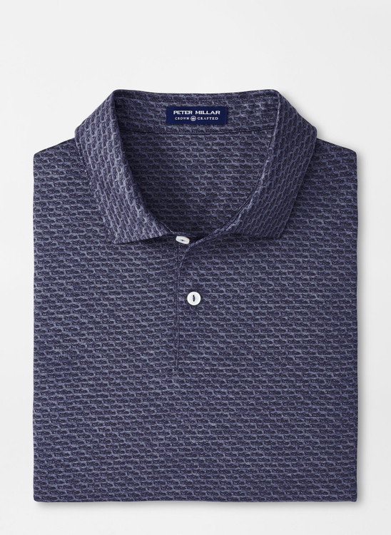 Billy Performance Jersey Polo in Navy by Peter Millar