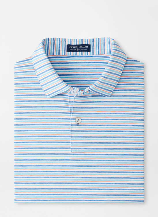 Soul Performance Jersey Polo in Bluebell by Peter Millar
