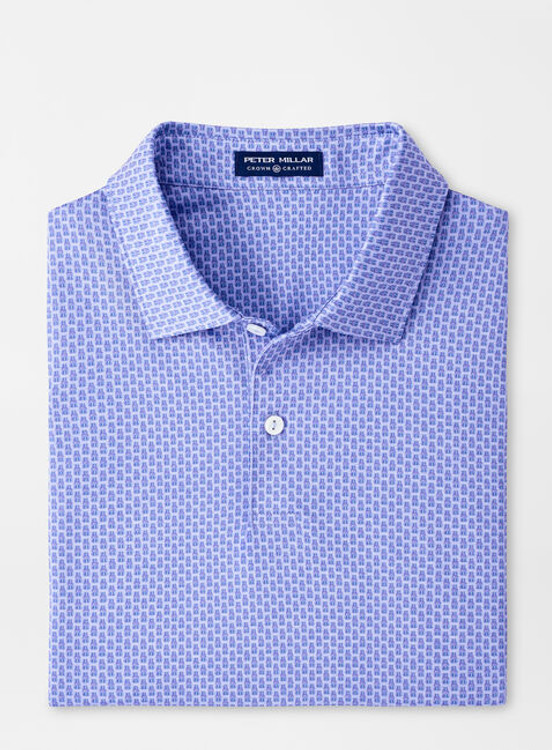 Calico Performance Jersey Polo in Wisteria by Peter Millar