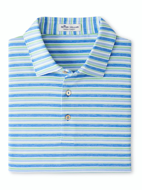 Pickup Performance Polo in Blue River by Peter Millar