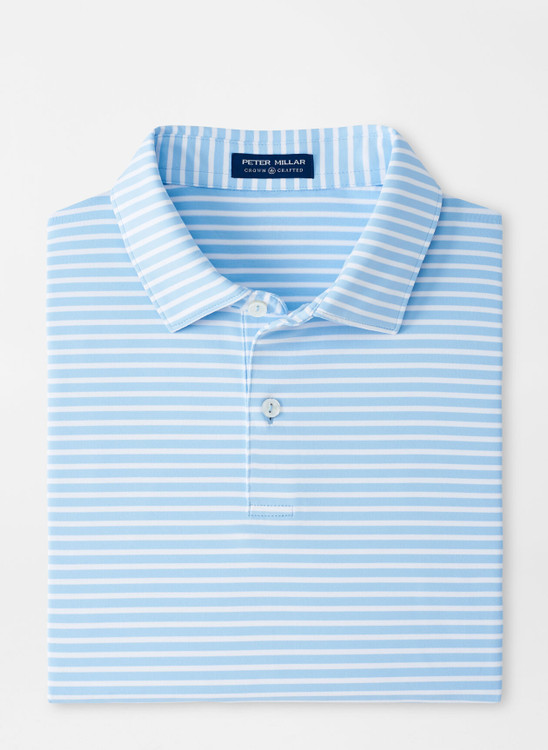 Miles Performance Jersey Polo in Fjord by Peter Millar