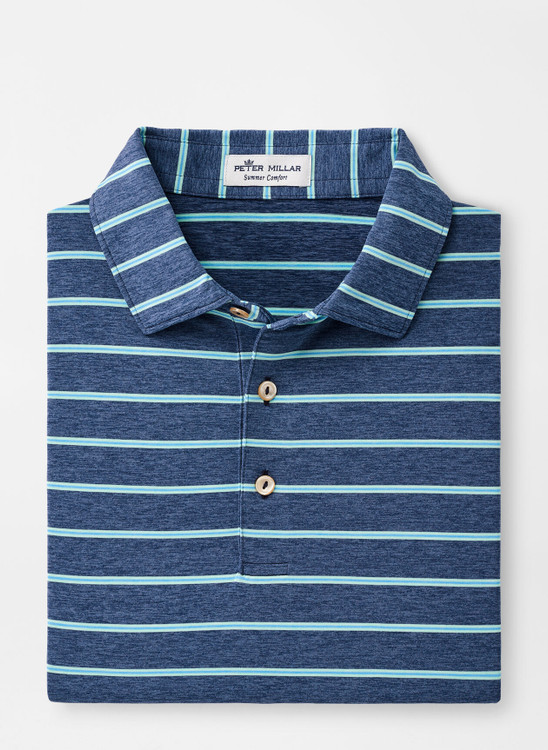 Hannover Performance Jersey Polo in Navy by Peter Millar