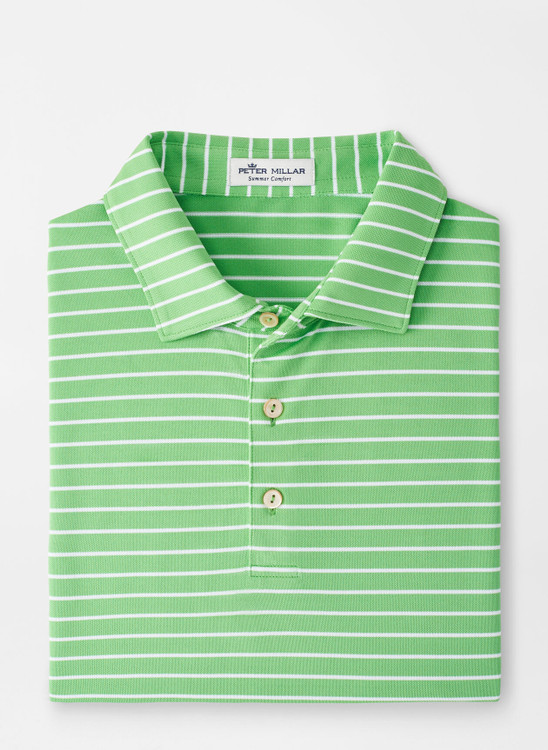 Swan Performance Mesh Polo in Mint Leaf by Peter Millar