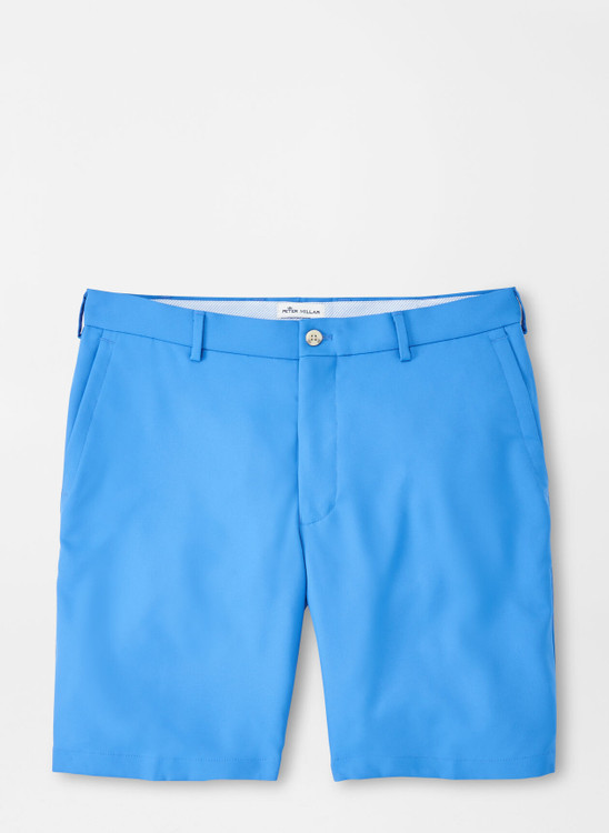 Salem High Drape Performance Short in Blue River by Peter Millar