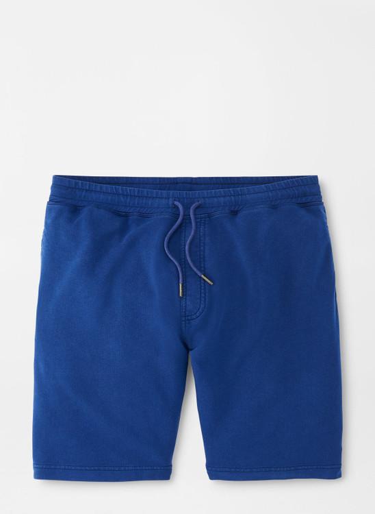 Lava Wash Short in Atlantic Blue by Peter Millar