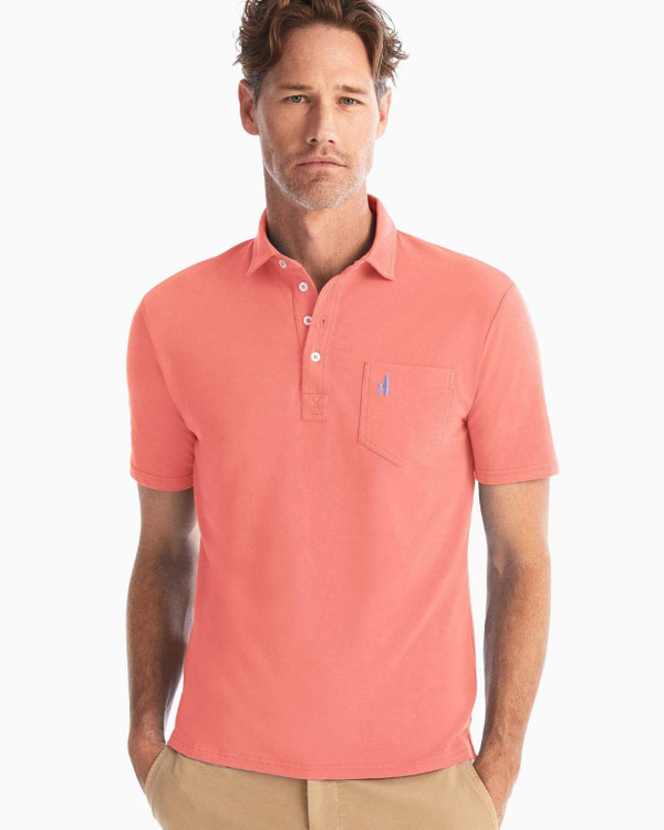 The Original 4-Button Polo in Coral Reef by johnnie-O