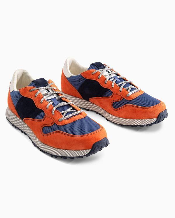 Range Runner Sneaker in Orange by johnnie-O