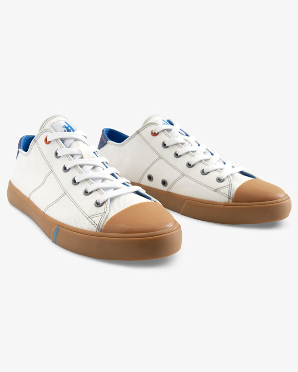 Sail Away Sneaker in White by johnnie-O