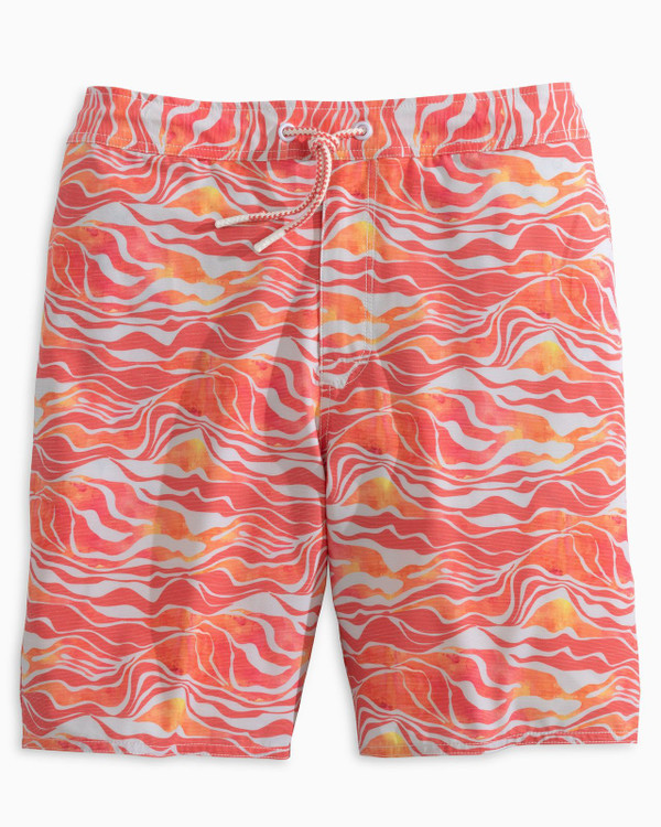 Walpole Half Elastic Swimtrunk in Coral Reef by johnnie-O