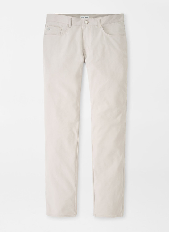 Performance Five-Pocket Pant in Sand by Peter Millar