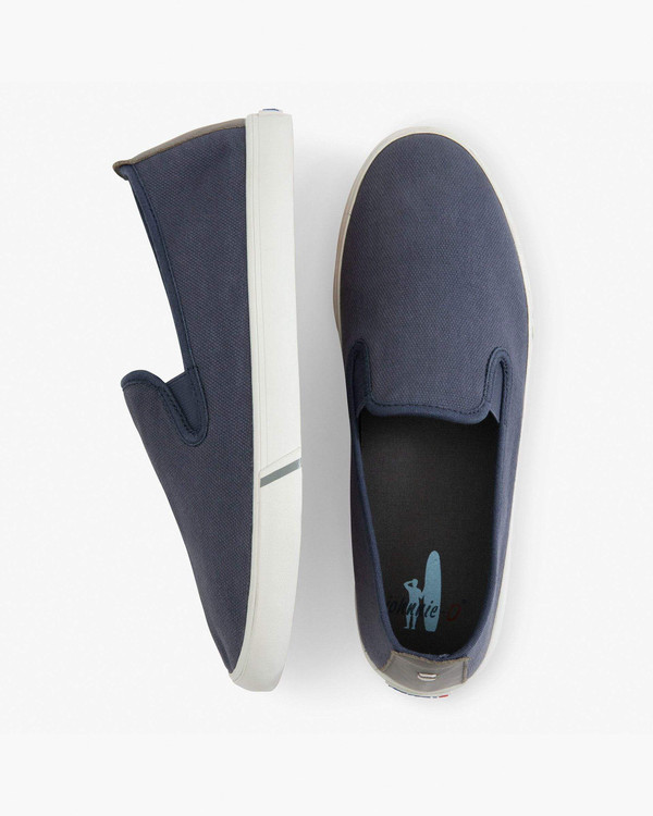 Stealth Sneaker in Washed Navy by johnnie-O