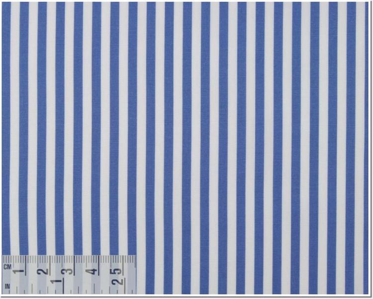 Poplin Stripe 120's 2-Ply Custom Dress Shirt in Sky Blue (1907) by Emanuel Berg