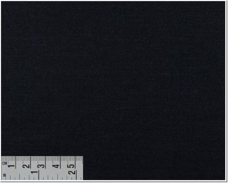 Twill Melange Solid 80's 2-Ply Custom Dress Shirt in Navy (1951) by Emanuel Berg