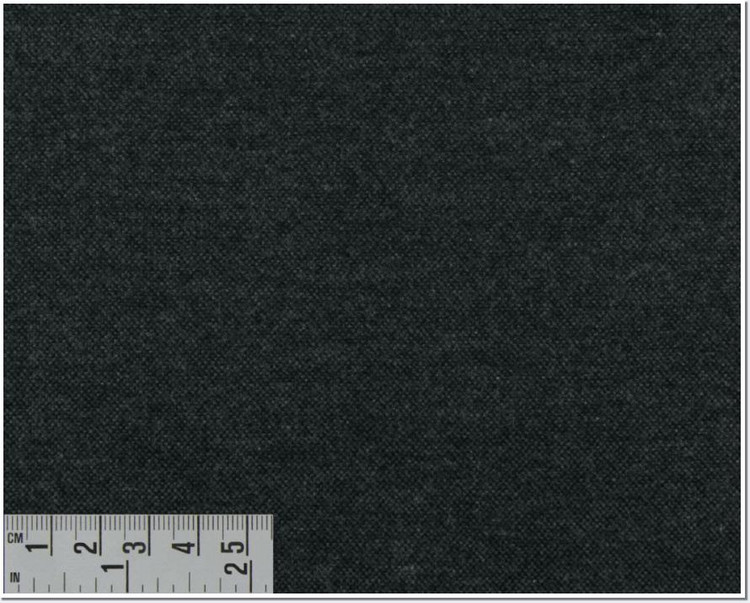 Twill Melange Solid Custom Dress Shirt in Dark Gray (1960) by Emanuel Berg