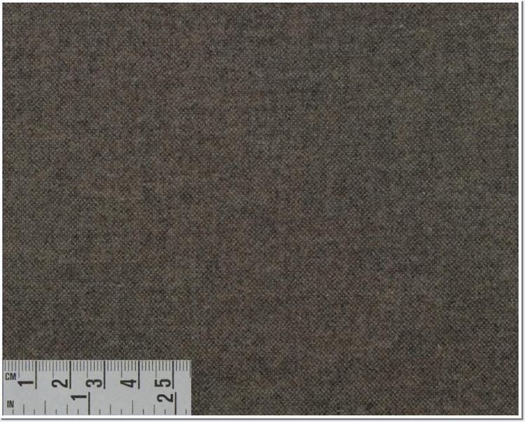 Twill Melange Solid Custom Dress Shirt in Light Brown (1961) by Emanuel Berg