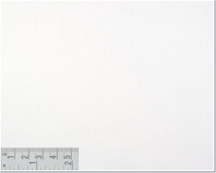 Twill Melange Solid Custom Dress Shirt in Off-White (1968) by Emanuel Berg