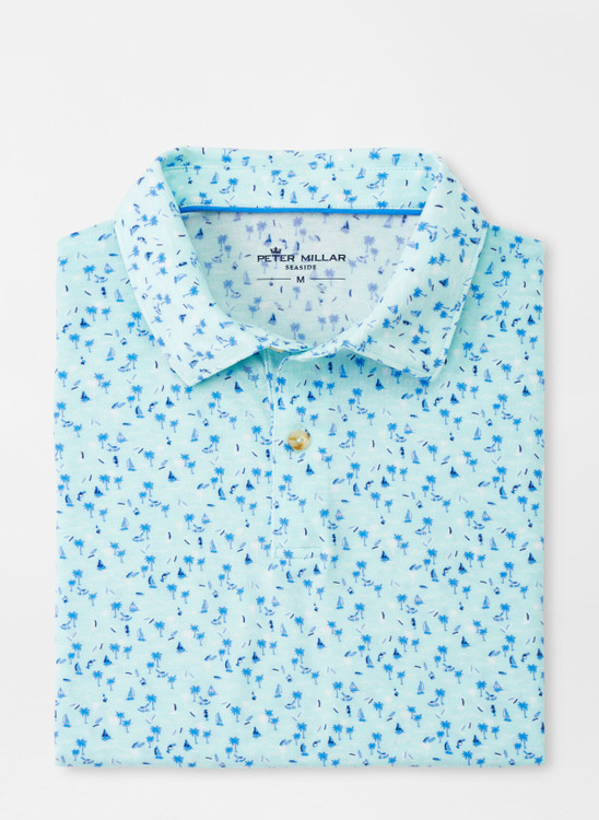 drirelease® Natural Touch Hawaiian Polo in Larimar by Peter Millar
