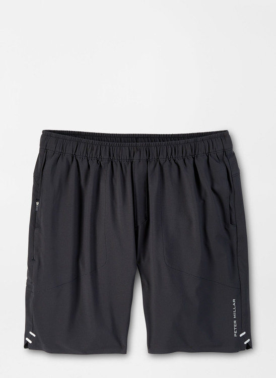 Apollo Performance Short in Black by Peter Millar