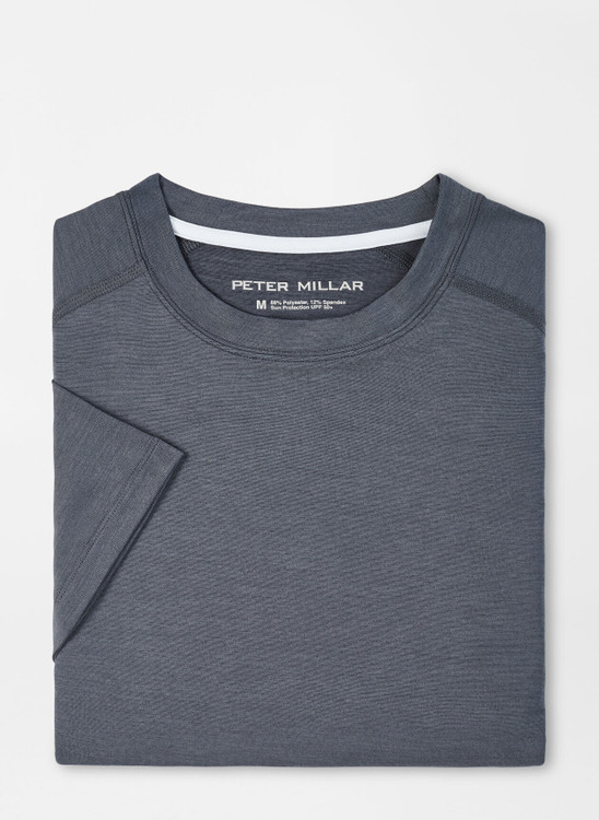 Apollo Performance T-Shirt in Iron by Peter Millar